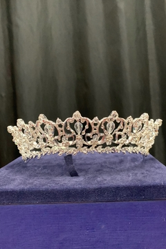 Lucky Collections Clear Crystal Tiara - Product List Image