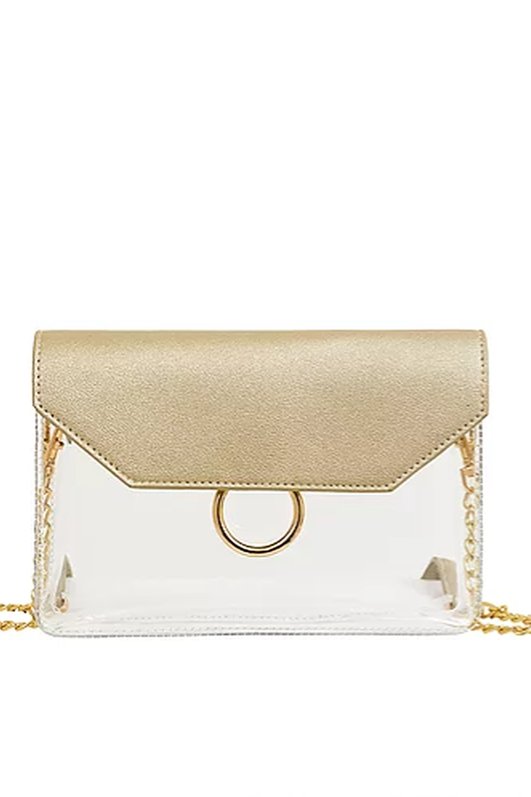 Mellow World Clear Lexie Crossbody - Front Cropped Image