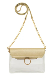 Mellow World Clear Lexie Crossbody - Front full body