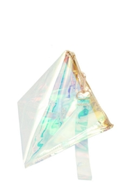 TIMELESS Clear Pyramind Clutch - Product Mini Image