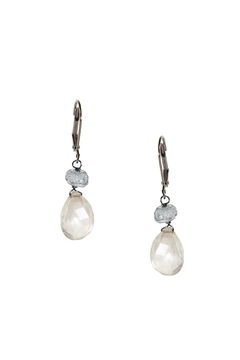 Dana Herbert Clear Quartz Earrings - Alternate List Image