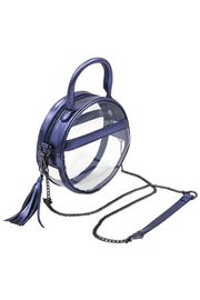 Policy Handbags Clear Roundie Halo Bag - Product Mini Image