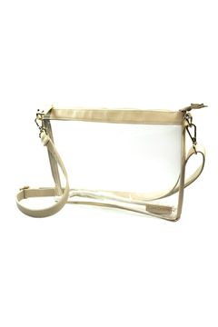 Shoptiques Product:  Clear Small  Crossbody