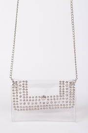 H & D Clear Studded Bag - Product Mini Image
