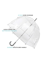 totes Clear View Umbrella - Side cropped