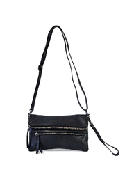 Amsterdam Heritage (Mytulus) Cleef Double Zipper Wristlet/Crossbody - Front cropped