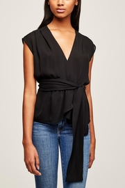 L'Agence Clemence Shirred Blouse - Product Mini Image