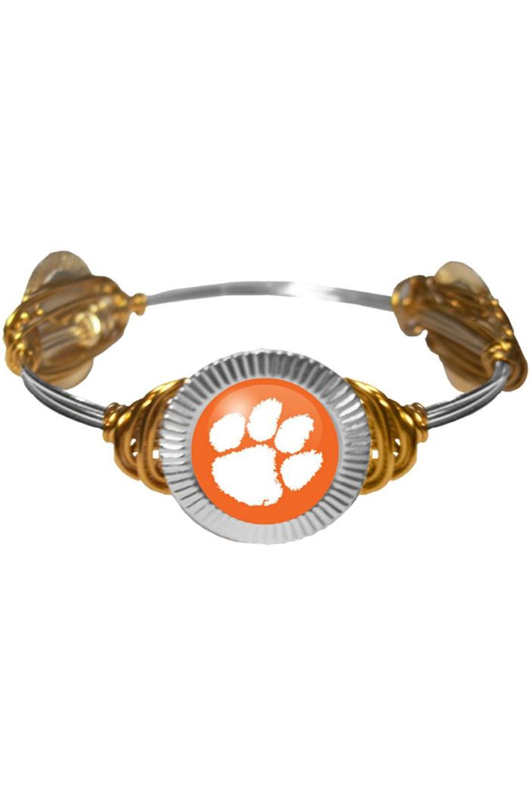 Clemson Wire-Wrapped Bracelet from Florida by Artsy Abode — Shoptiques