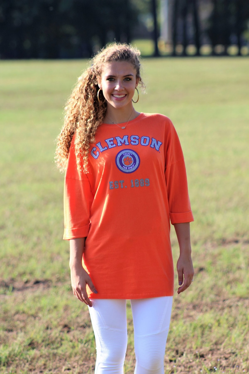 Gameday Couture Clemson University Tee Shirt Dress - Main Image