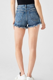 DL 1961 Cleo Highwaisted Shorts - Front full body