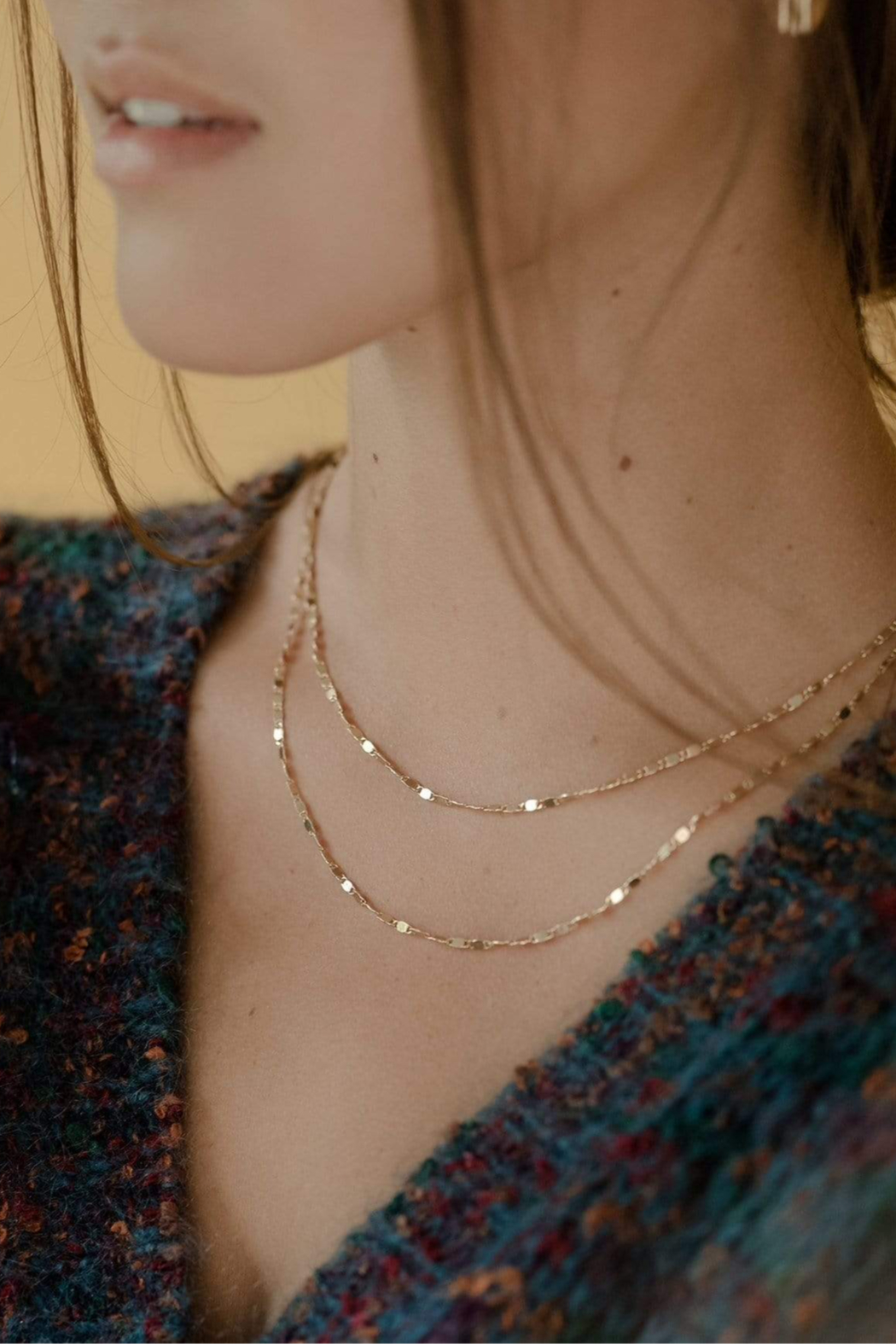 Lovers Tempo Cleo Layered Necklace - Side Cropped Image