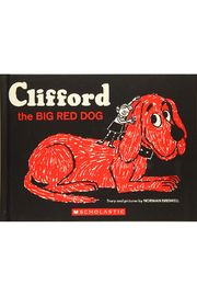 Scholastic Cliffor The Big Red Dog - Front cropped