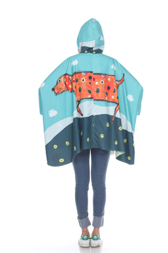 Inoah Clifford the Dog Poncho - Product List Image