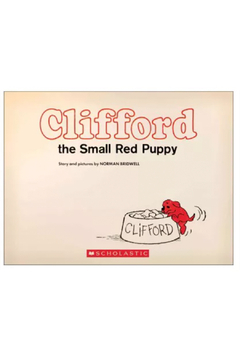 Scholastic Clifford The Small Red Puppy - Alternate List Image