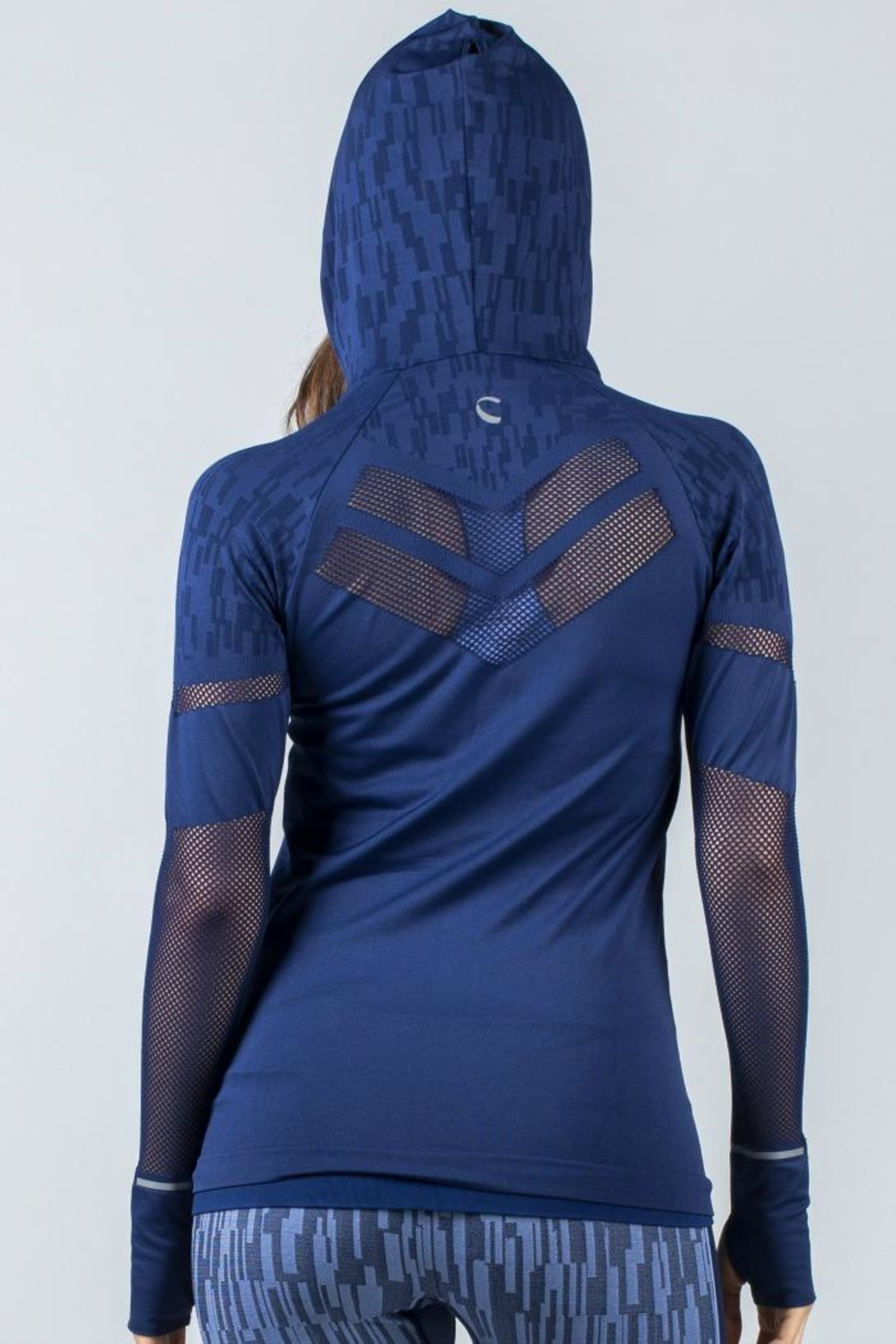 Climawear Quest Seamless Hoodie - Front Full Image