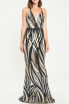 L'atiste Climbing Vines Gown - Product List Image