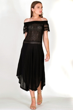 Shoptiques Product: Clio Eyelet Cover-up
