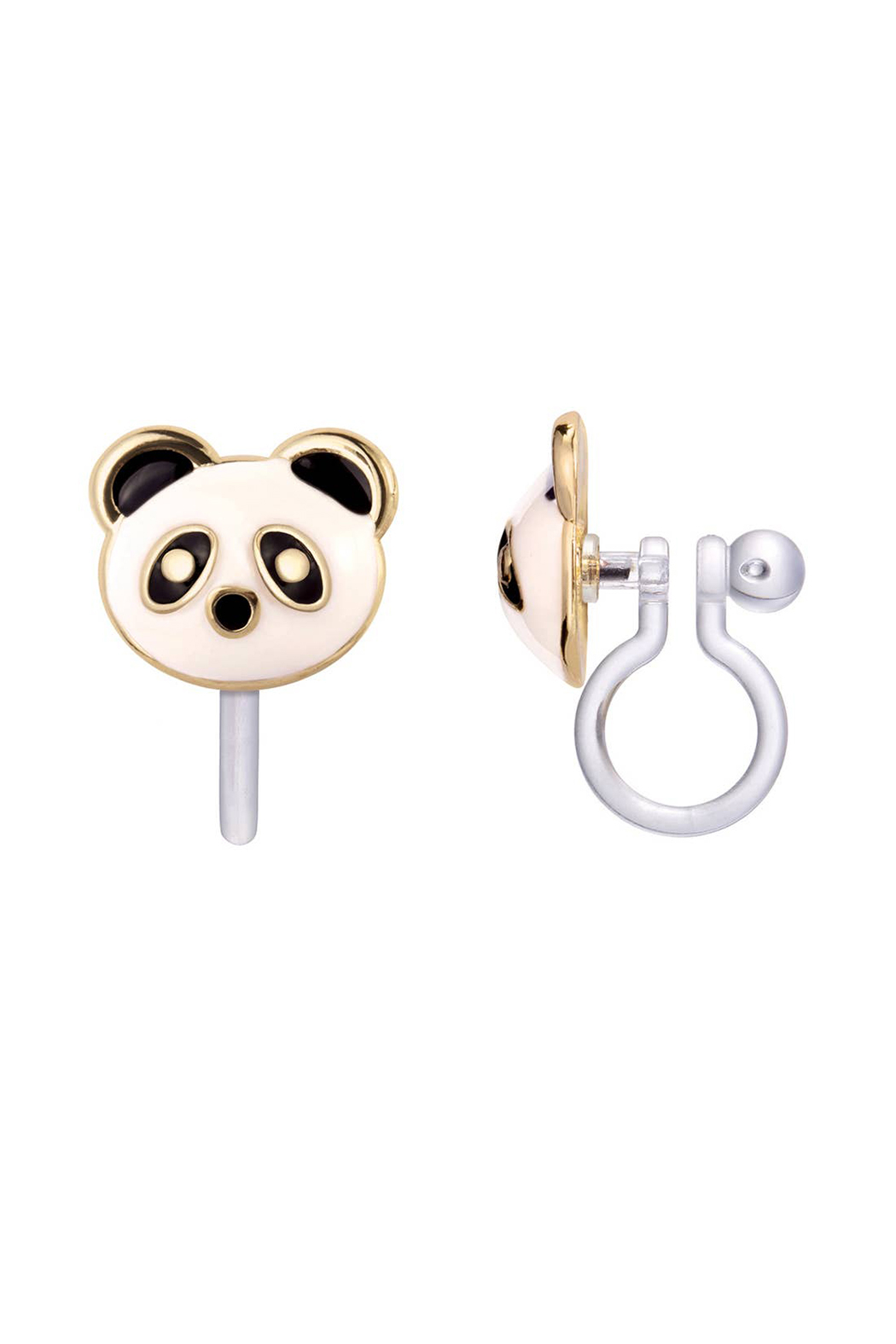 Girl Nation  Clip On Cutie Earrings - Pandatastic - Main Image