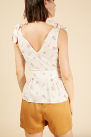 FRNCH Clivia Roses Top - Side cropped