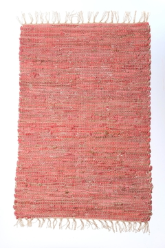 Shoptiques Product: Leather Woven Rug