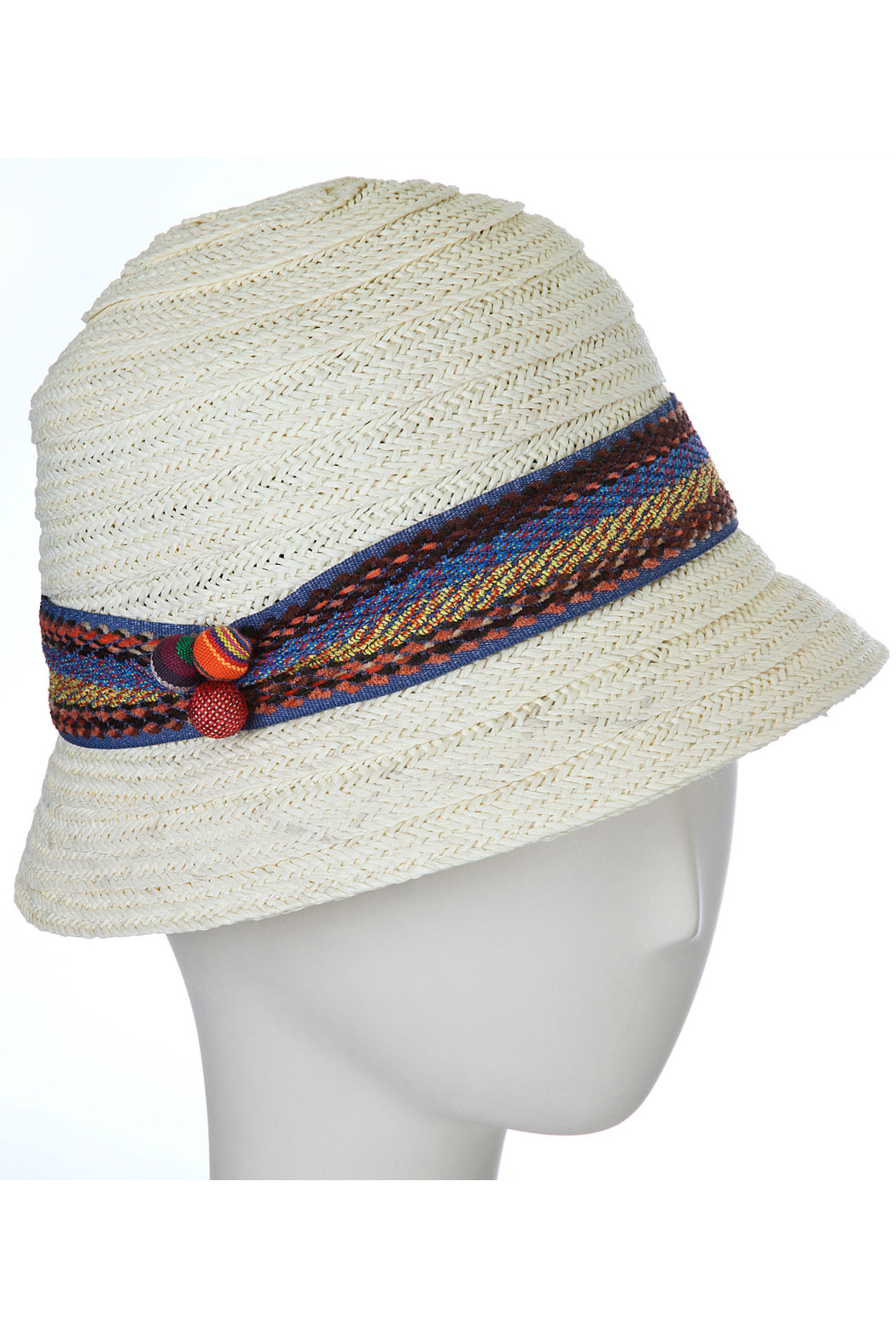 F & M Hat company Cloche hat - Front Cropped Image