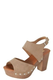 Bella Marie Clog Sandals - Front full body