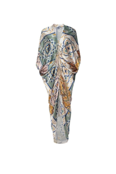Shoptiques Product: Cloister Patchwork Gathered Kaftan