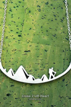 Shoptiques Product: Close 2 UR Heart Stainless Steal Necklaces