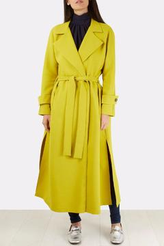 Closet Buttoned Trench Coat - Product List Image