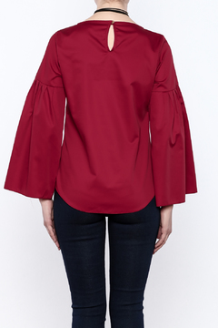 Closet Long Flared Sleeve Blouse - Alternate List Image