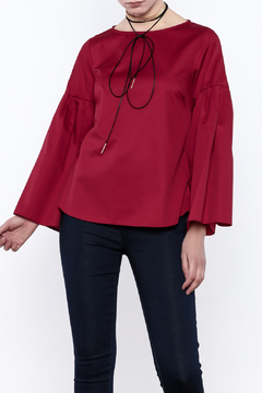 Closet Long Flared Sleeve Blouse - Product List Image