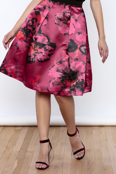 Closet Satin Skirt - Product List Image
