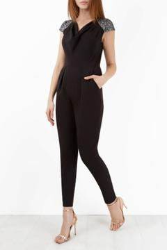 Closet Sequin Black Jumpsuit - Product List Image