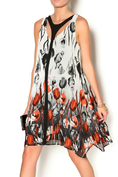 Clotheshead Black Poppy Dress - Product List Image