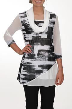 Clotheshead Black White Tunic - Product List Image