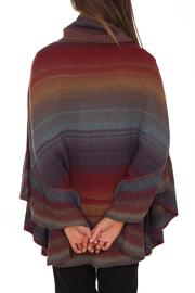 Clotheshead Colorful Cape - Back cropped