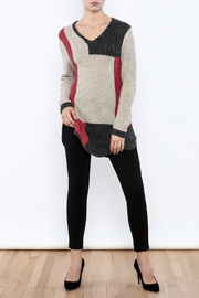 Clotheshead Colorful Tunic - Front full body