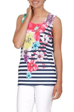 Clotheshead Floral Sleeveless Top - Product List Image