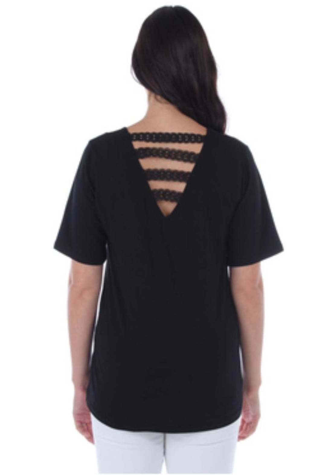 Clotheshead Short Sleeve Top - Front Full Image