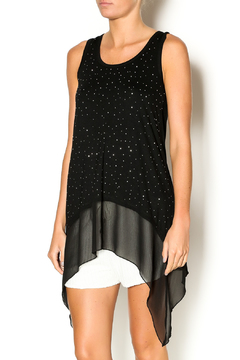 Clotheshead Silver Dots Long Tank - Product List Image