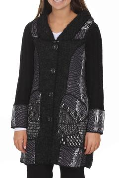 Clotheshead Stylish Tunic Cardigan - Product List Image