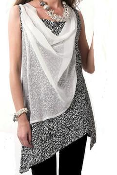 Clotheshead White Overlay Tunic - Alternate List Image