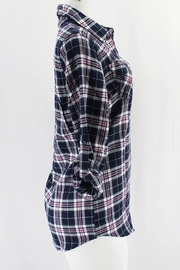 Clothing of America Flannel Plaid Shirt - Front full body