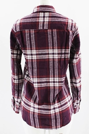 Clothing of America Flannel Plaid Shirt - Side cropped