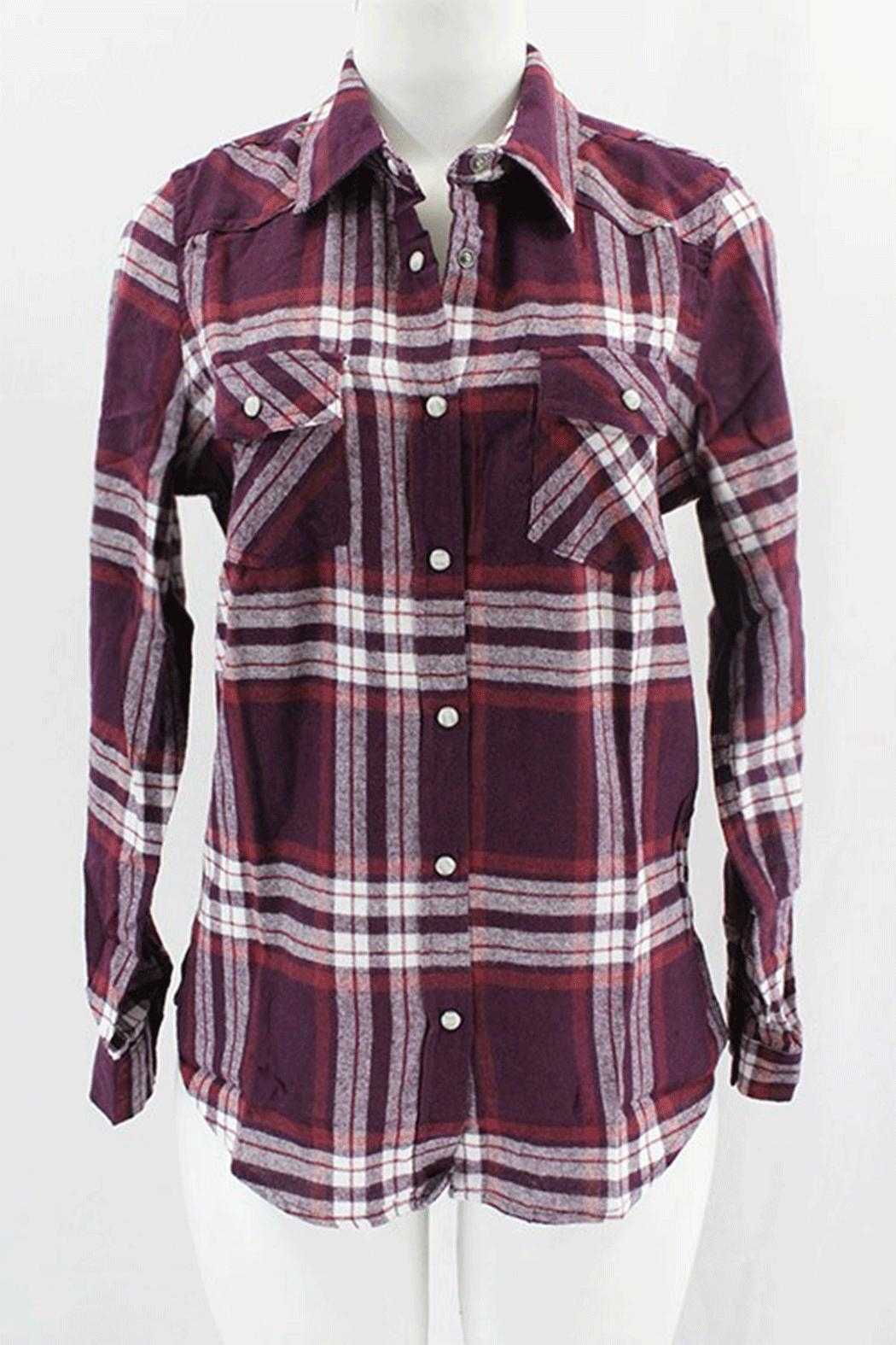 Clothing of America Flannel Plaid Shirt - Main Image
