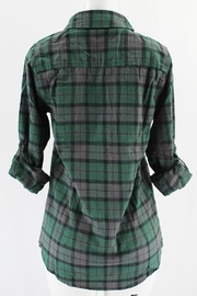 Clothing of America Lightweight Plaid Button-Up - Front full body