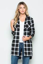 Clothing of America Long Plaid Duster - Product Mini Image
