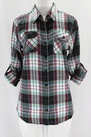 Clothing of America Multi Plaid Flannel - Product Mini Image