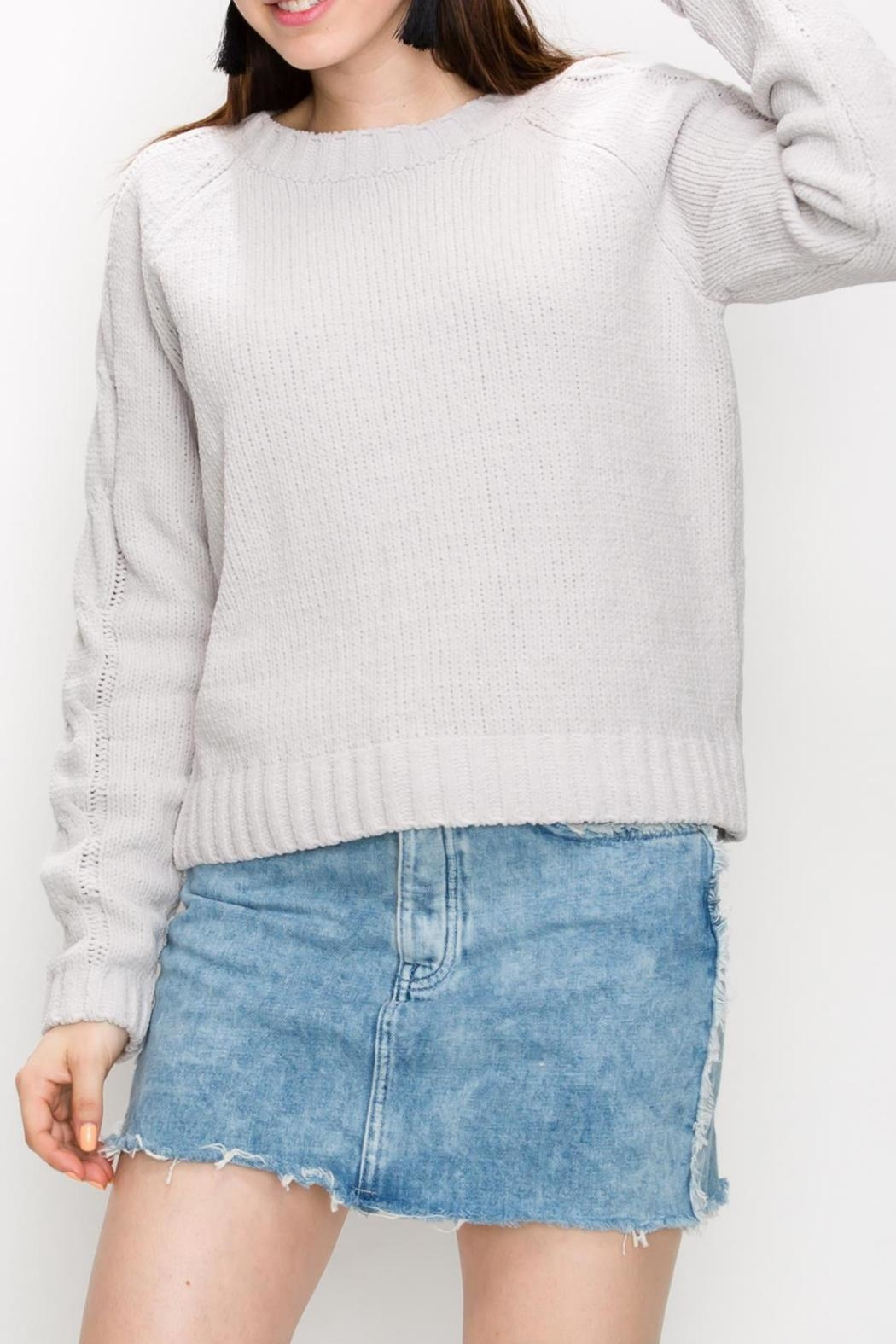 HYVE Cloud Cable-Knit Sweater - Main Image