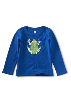 Tea Collection Cloud Forest Frog Graphic Tee - Alternate List Image